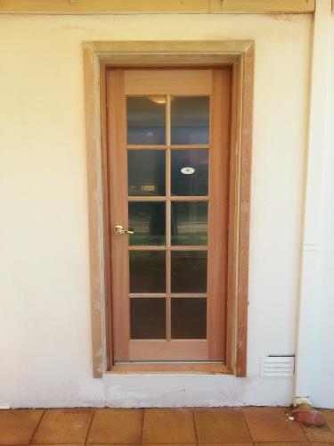 Door Installation Services : Door installation carpentry construction services perth