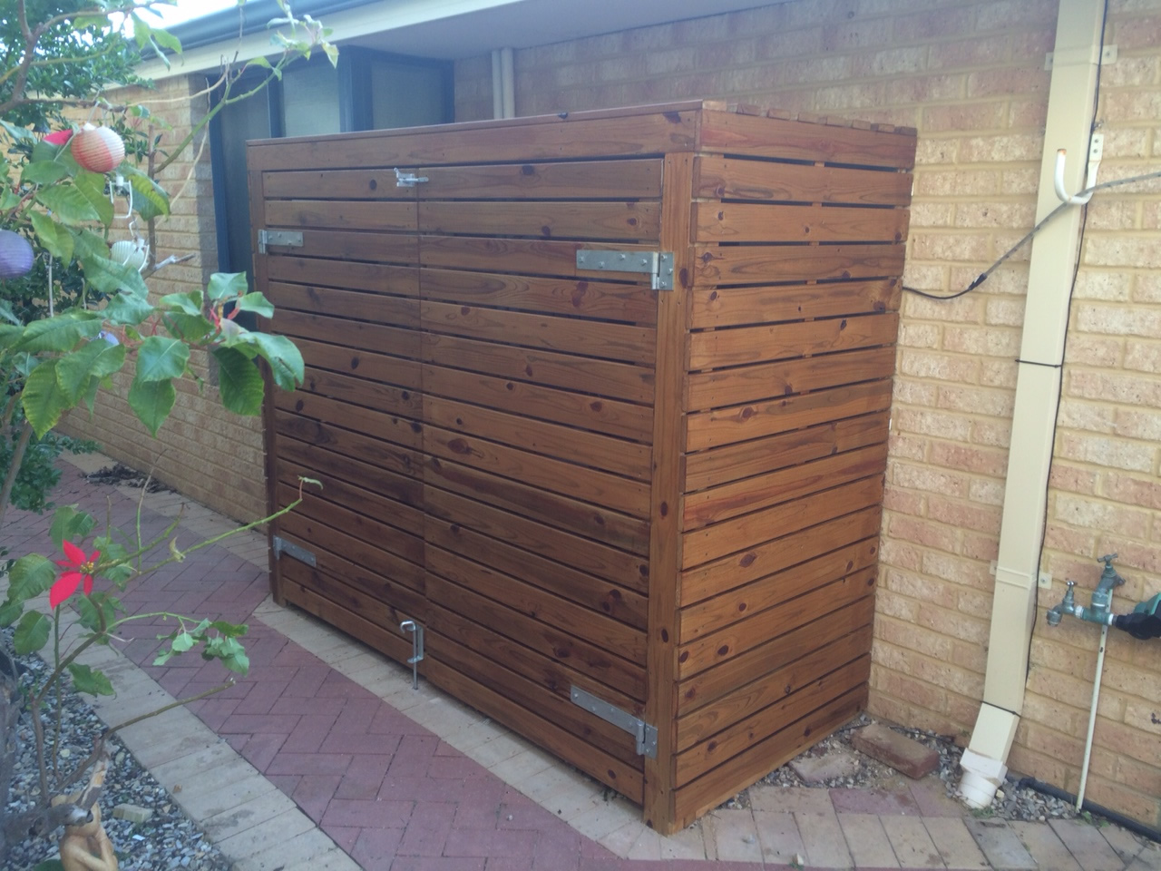 Pool Equipment Cover Carpentry Construction Services Perth